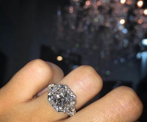 fashion, diamond, and ring image