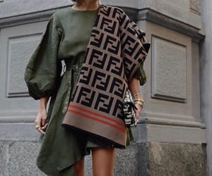 fashion, fendi, and outfit image