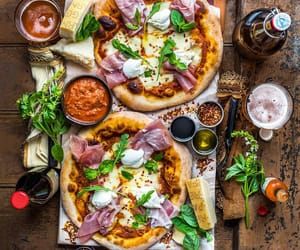food, pizza, and lovely image