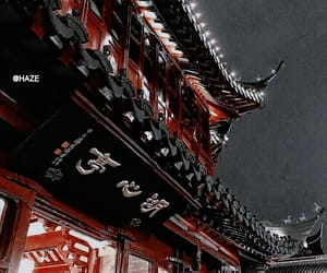 aesthetic, dark, and japan image