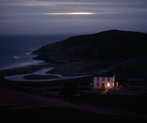 house, dark, and nature image