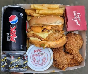 aesthetic, fast food, and food image