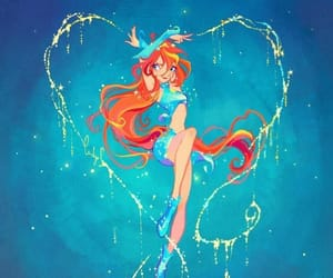 winx club, art, and bloom image