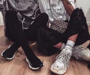 girl, aesthetic, and Balenciaga image