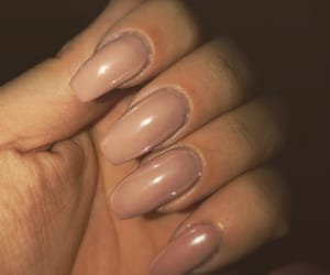mirror, nails, and Nude image