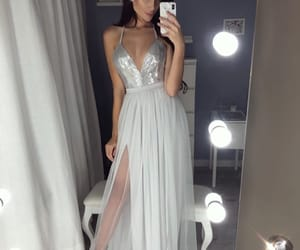 prom dress and long prom dress image