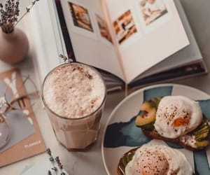 breakfast, coffee, and enjoy image