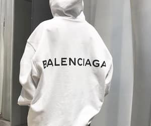 fashion, Balenciaga, and outfit image
