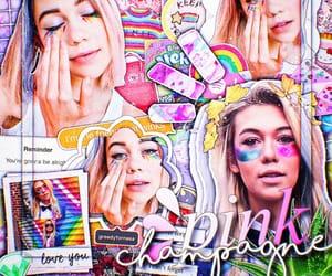 aesthetic, inspo, and rainbow image