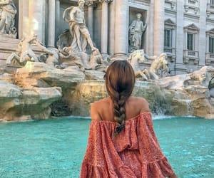 travel, braid, and fashion image