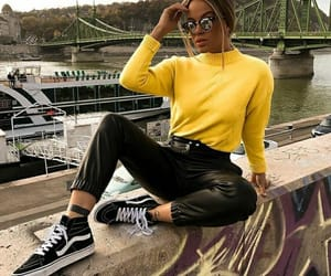black, budapest, and fashion image