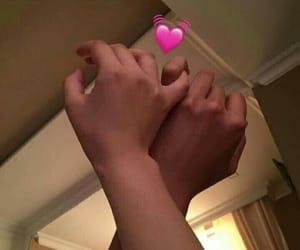 couples, hands, and romances image