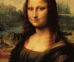 art and mona lisa image