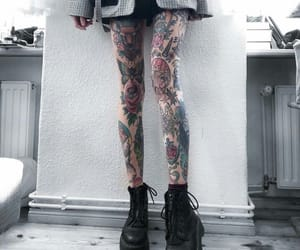 tattoo, grunge, and ink image