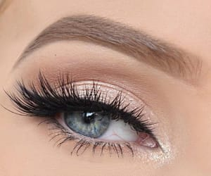 beauty, fashion, and eyes image