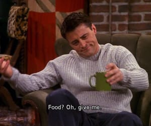 friends, Joey, and food image