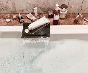 bath, cosmetic, and relaxation image