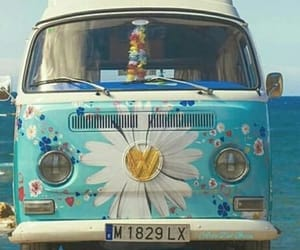hippie, aesthetic, and flowers image