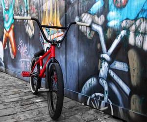 bike, graf, and stylé image