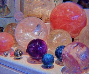 crystal, theme, and aesthetic image