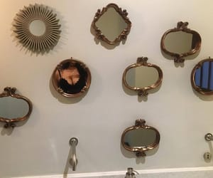 aesthetic, mirror, and girl image