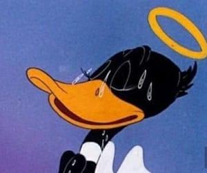 cartoon, angel, and daffy duck image