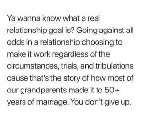 goals, Relationship, and work image