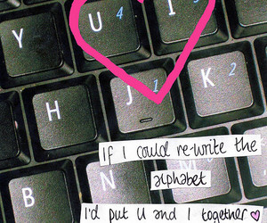 heart, love, and keyboard image