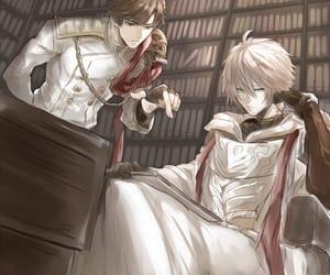 anime, books, and boy image