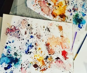 art, colour, and draw image