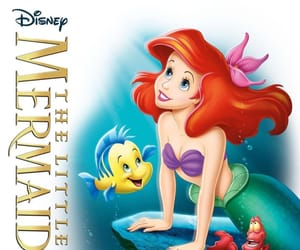dysney, mermaids, and thelittlemermaid image