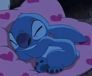 cartoon, night, and sleep image