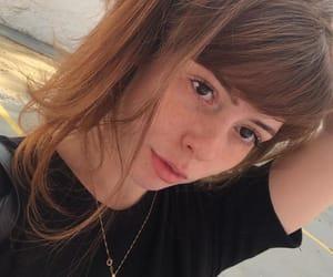 bangs, redhead, and ginger image