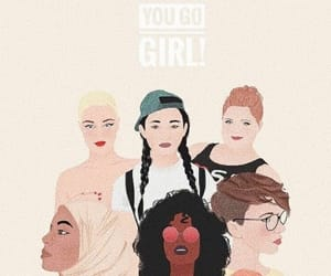 girl power, 8 march, and womens day image