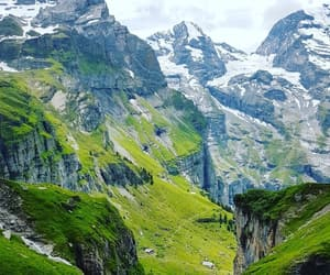 mountains, switzerland, and lovetravel image