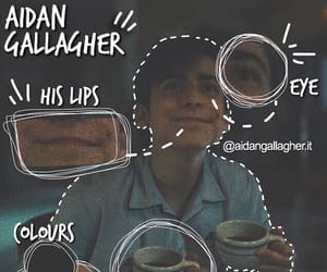 number five and aidan gallagher image