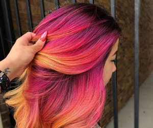 hair, hairstyle, and haircolor image