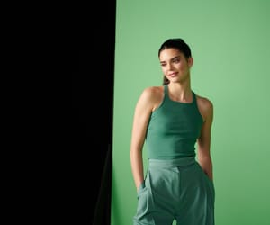 girl, green, and Kendall image