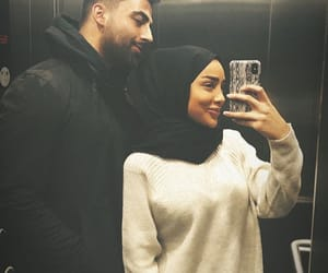beauty, casual, and couple image