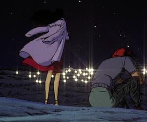 gif, old anime, and retro image