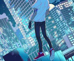 anime, art, and rosa image