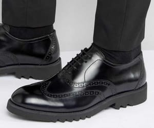 brogues, male, and oxfords image