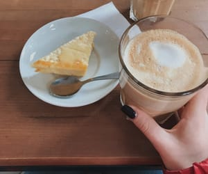 aesthetic, breakfast, and Capuchin image