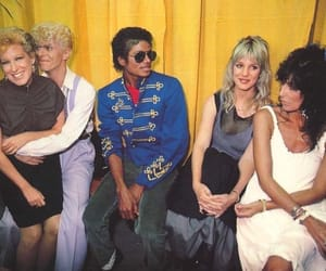 michael jackson, david bowie, and king of pop image