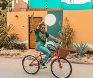 bikes, fashion, and photography image
