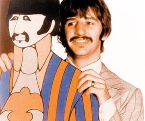ringo starr, the beatles, and yellow submarine image