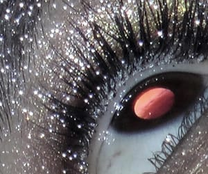 aesthetic, eye, and glitter image