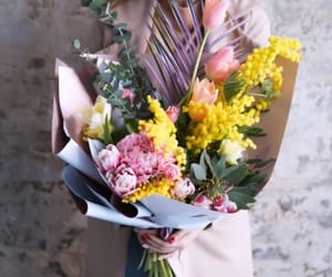 bouquet, flowers, and gifts image