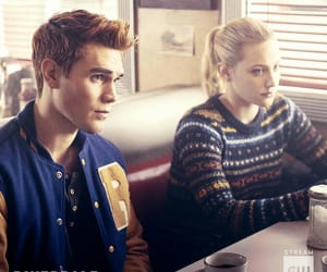 betty cooper, archie andrews, and lili reinhart image
