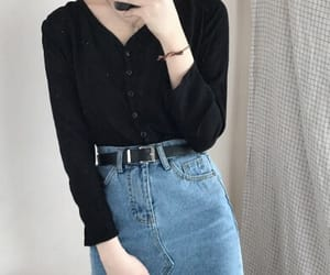 outfit, girl, and aesthetic image
